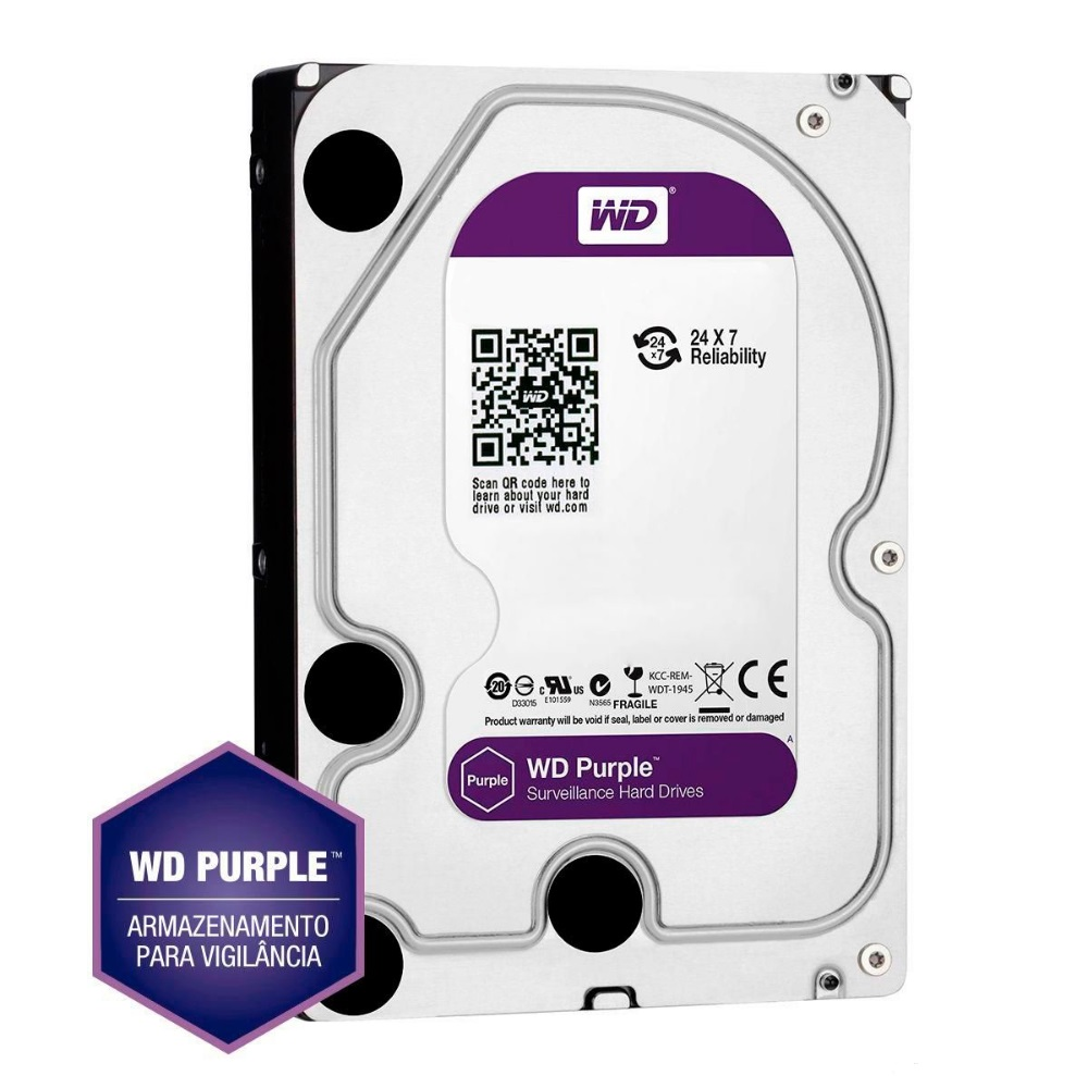 NVD 7132 - Com HD 1TB - HD WD Purple™