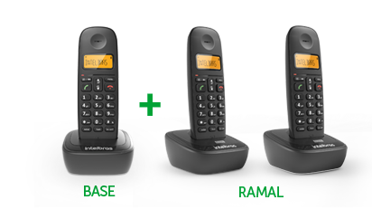 TS 2513 - Base mais Ramal